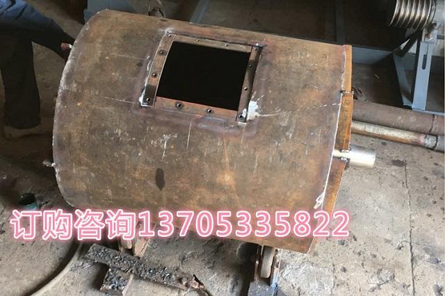 100公斤小型球磨机焊接