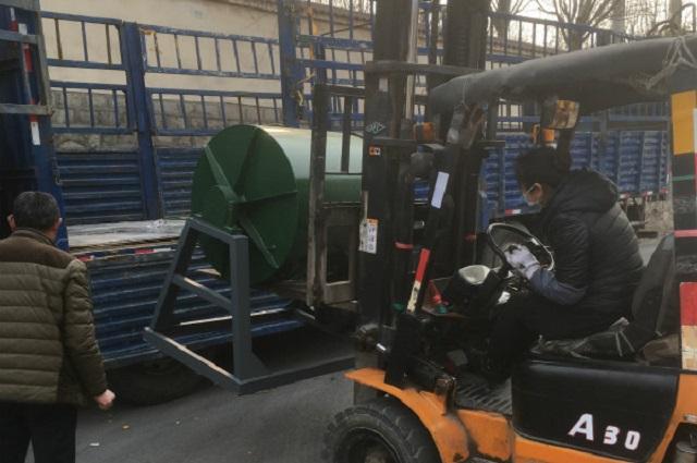 300公斤球磨机发货