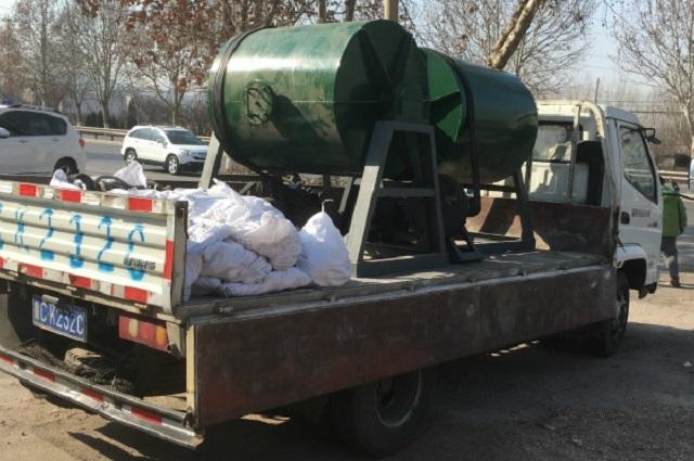 100公斤小型球磨机发货2台